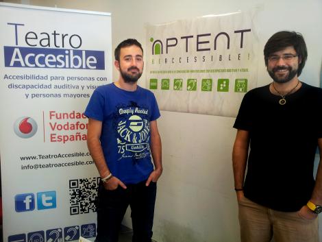 Diego y Javier 'emprenden' el camino a una sociedad sin barreras desde Aptent be Accessible!