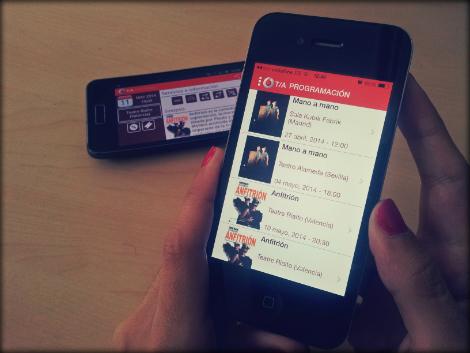 Aplicación Teatro Accesible en iOS