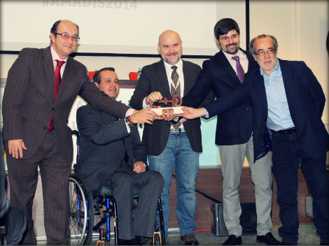 Entrega premio CERMI a Teatro Accesible