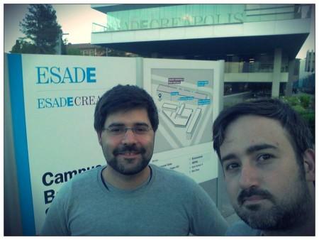Javier y Diego ESADE