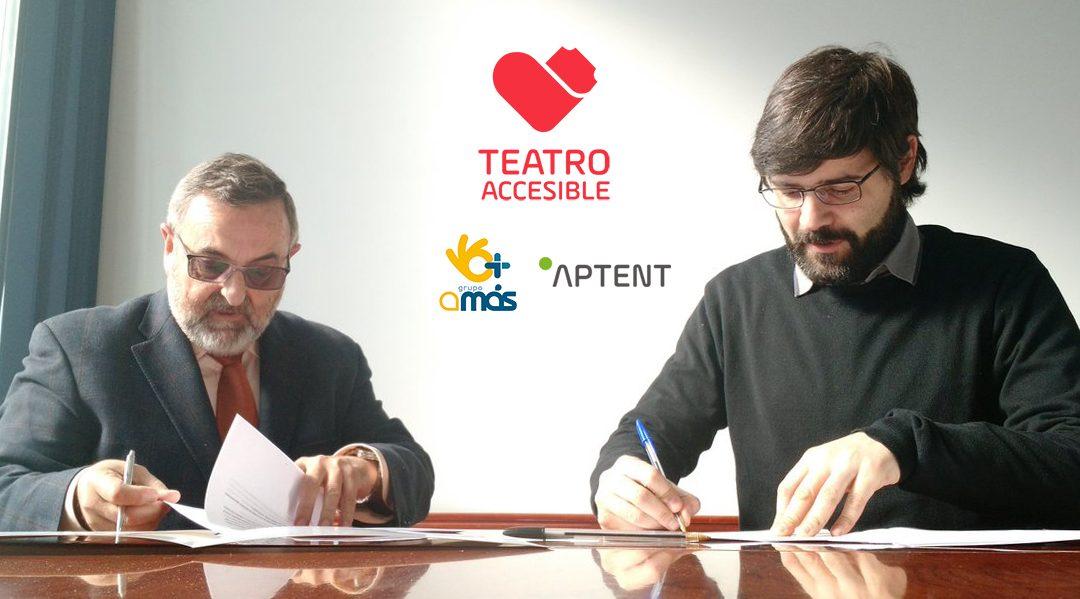 Aptent firma un convenio con Fundación AMÁS Social para promover la cultura para todos