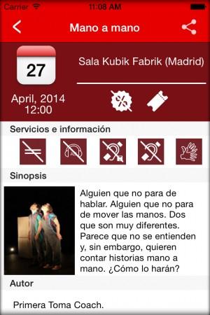 Teatro Accesible para iOS