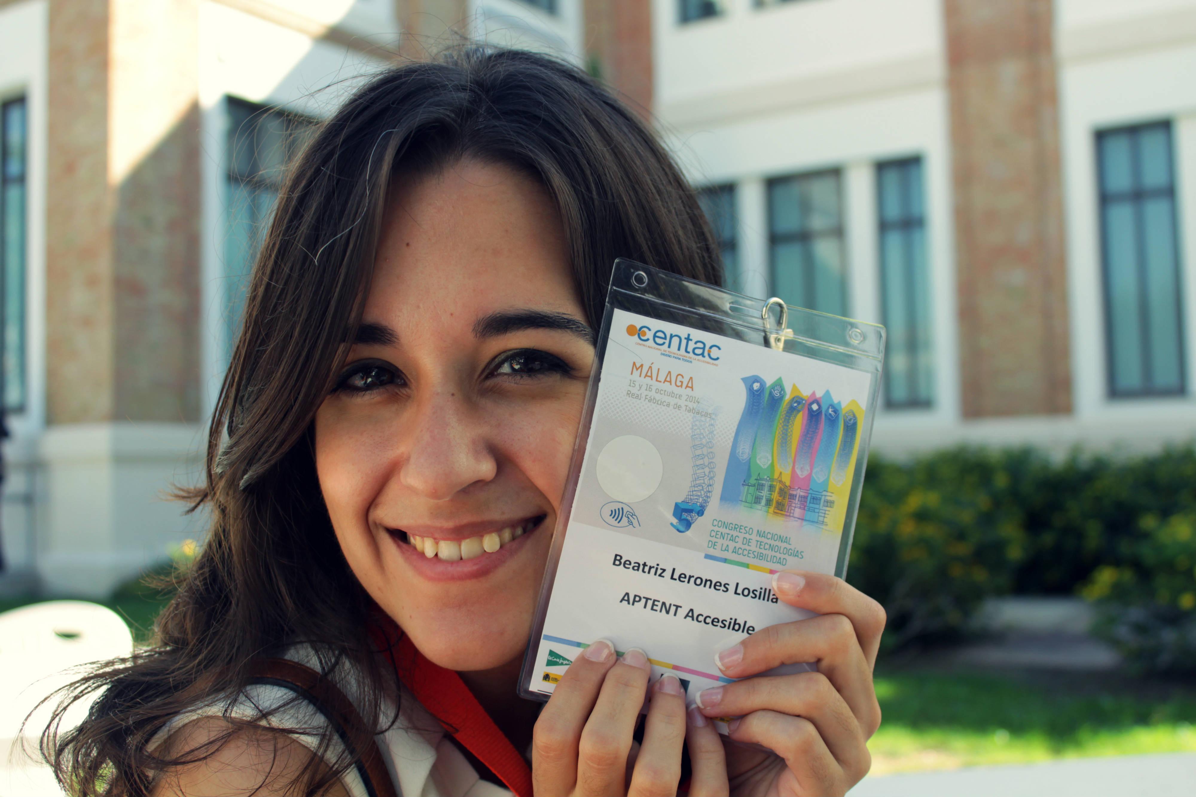 Beatriz Lerones en el CENTAC