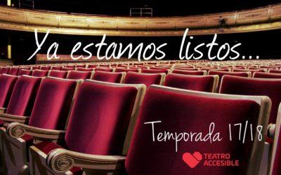 Arranca la séptima temporada de Teatro Accesible
