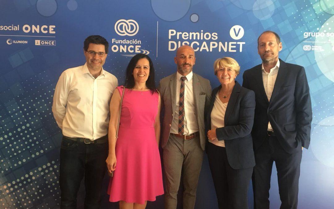 Mínimo, nominada a los premios Discapnet al mejor producto basado en tecnologías para la mejora de la calidad de vida de las personas con discapacidad