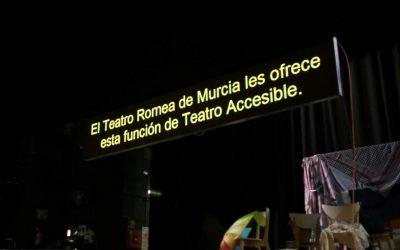 Accesibilidad en el Teatro Circo de Murcia