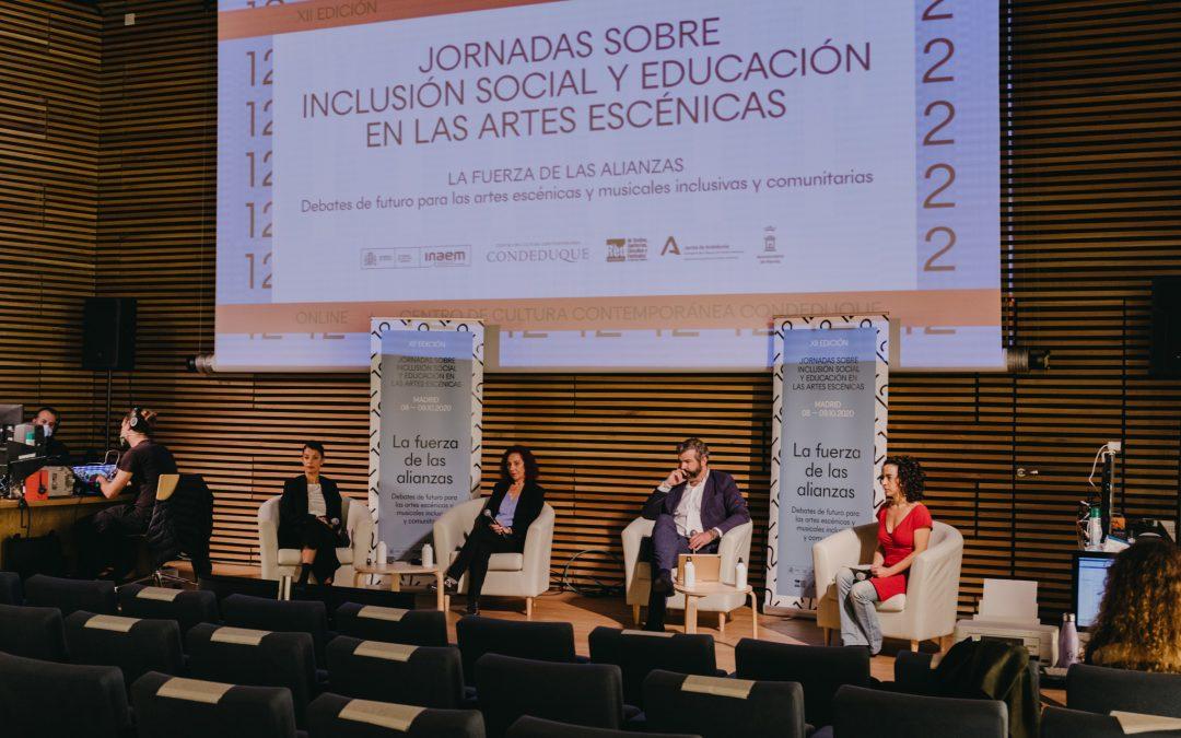 XII Jornadas sobre Inclusión Social y Educación en las Artes Escénicas