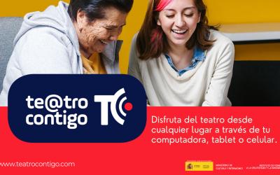 Teatro Contigo: una nueva plataforma de teatro online  con medidas de accesibilidad